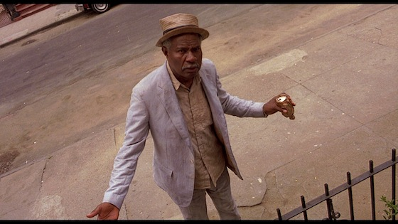 an analysis of the character senor love daddy in the movie do the right thing by spike lee Addressing the direct address in do the right thing by anderson shore in spike lee's do the right thing, lee is able to expose the racial tensions that occur on a hot day in the community of bed-stuy through the direct address as well as physical interaction between the charactershalf way through the film the audience finds themselves being yelled at by different characters as they explain.